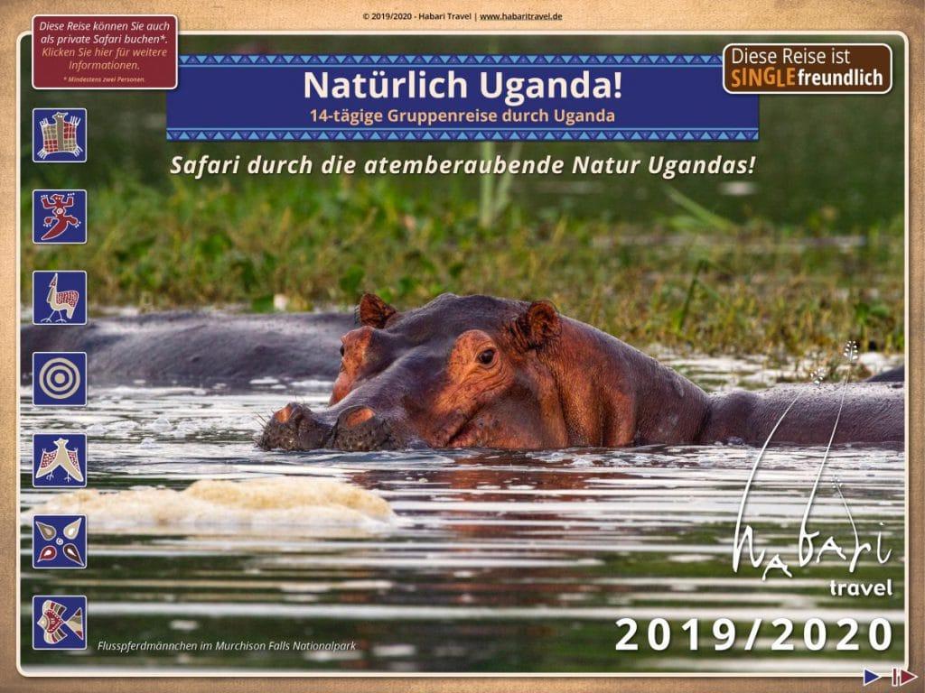 Broschüre Natürlich Uganda