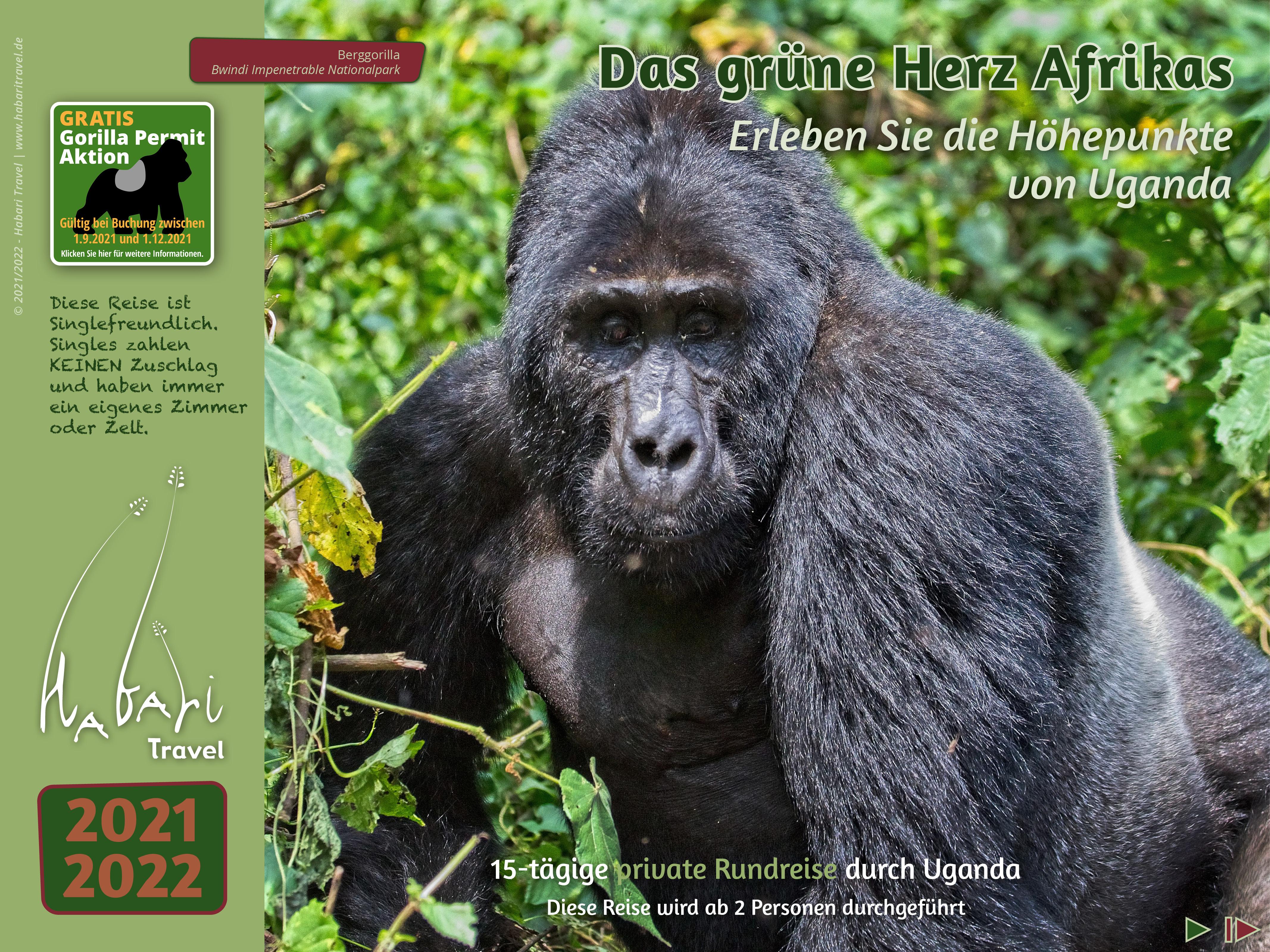 Katalog 2021 Das grüne Herz Afrikas