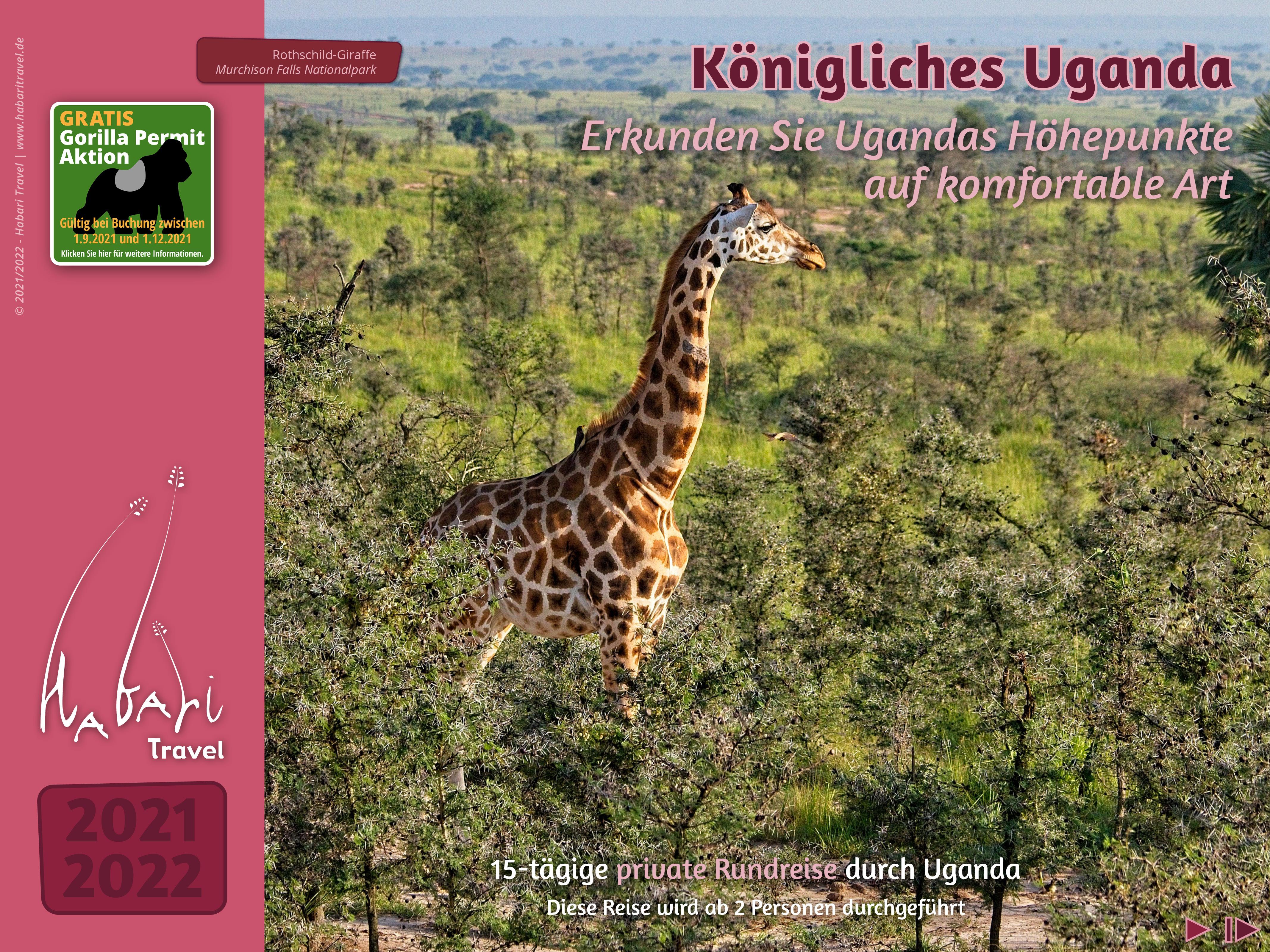 Katalog 2021 Konigliches Uganda