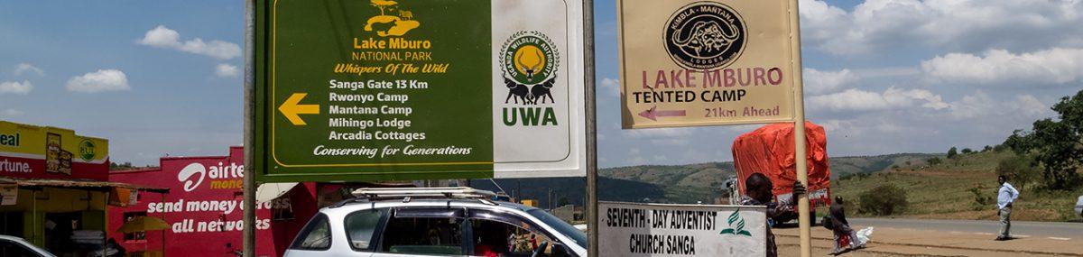 Nationalparks in Uganda