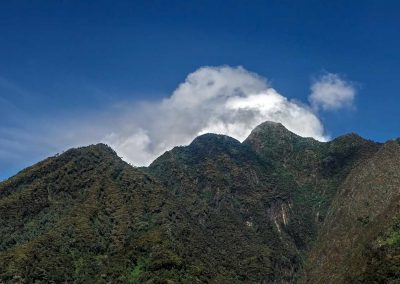 Wer die drei Gipfel des Sabinyo besteigen möchte muss in guter körperlicher Verfassung sein