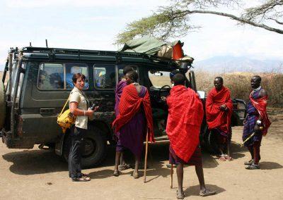 Besuch bei den Masai
