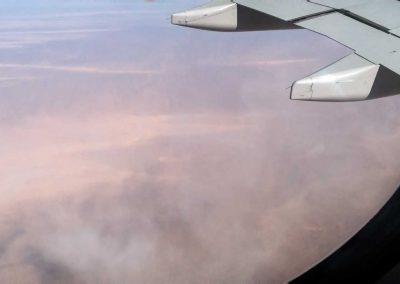 Sandsturm über Ägypten
