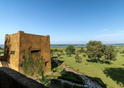 Blick vom Fort Murchison auf den Nil