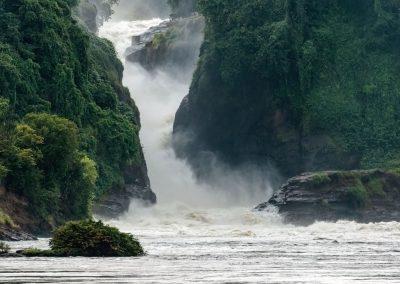 Die tosenden Murchison Wasserfälle