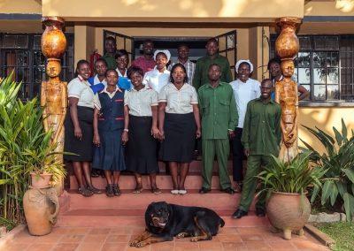 Der Stab des Airport Guesthouse Entebbe bietet Ihnen ein herzliches Willkommen